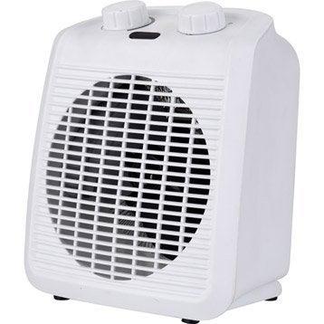 Radiateur soufflant soufflant salle de bain leroy merlin for Radiateur electrique soufflant