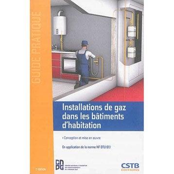 Installations de gaz dans les bâtiments d'habitation, CSTB