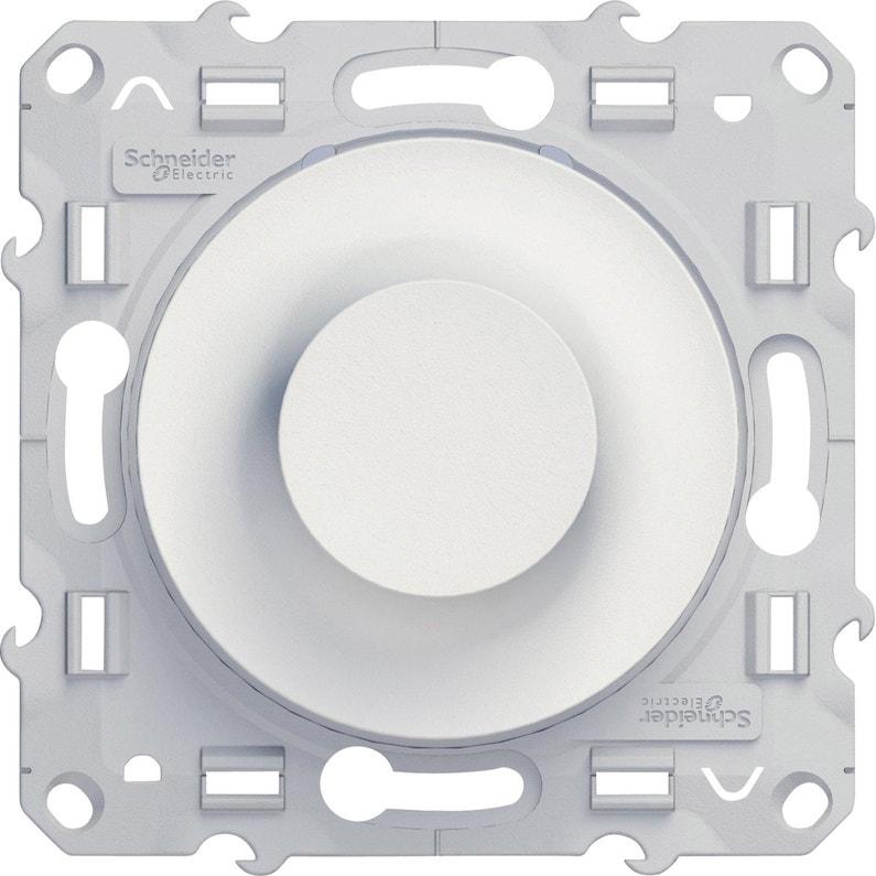 Variateur Odace Schneider Electric Blanc