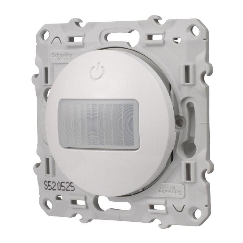Interrupteur Automatique Complet Schneider Odace Blanc