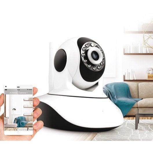 cam ra connect e avidsen visia 8 leroy merlin. Black Bedroom Furniture Sets. Home Design Ideas