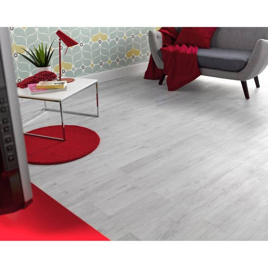lame pvc clipsable sunny white gerflor senso lock plus leroy merlin. Black Bedroom Furniture Sets. Home Design Ideas