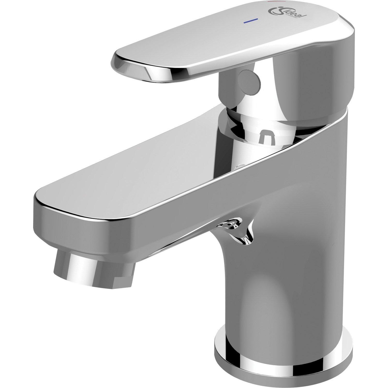 Salle De Bain Kramer ~ mitigeur de lavabo chrom brillant ideal standard idealive leroy