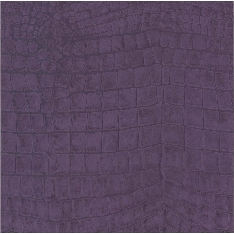 Papier peint vinyle Croco violet   Leroy Merlin