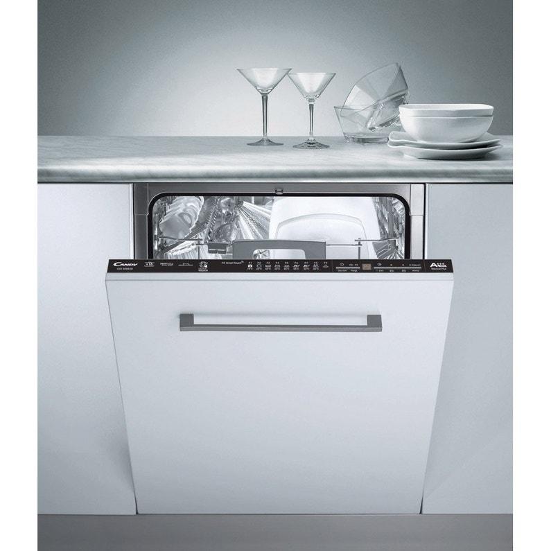 acheter populaire 0eabd 94470 Lave-vaisselle intégrable l.59.8 cm CANDY, 15 couverts