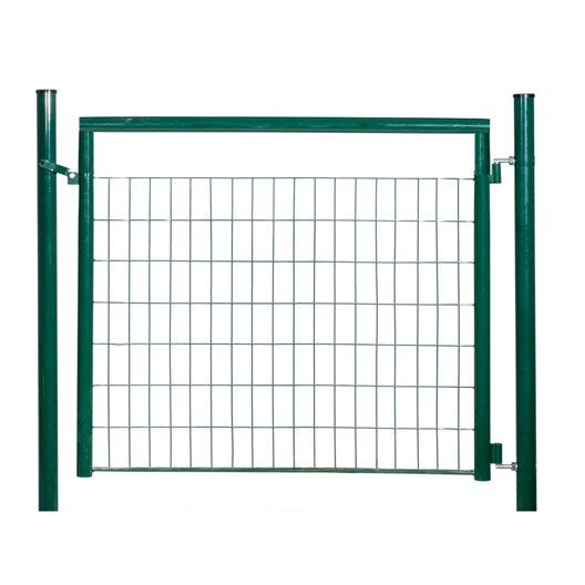 Portillon vert h 1 2 x l 1 2 m maille x mm for Portillon jardin grillage