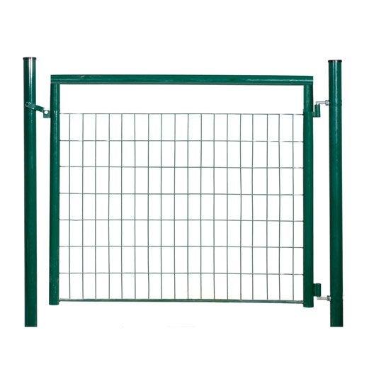 Portillon vert h 1 2 x l 1 2 m maille x mm for Portillon pvc vert
