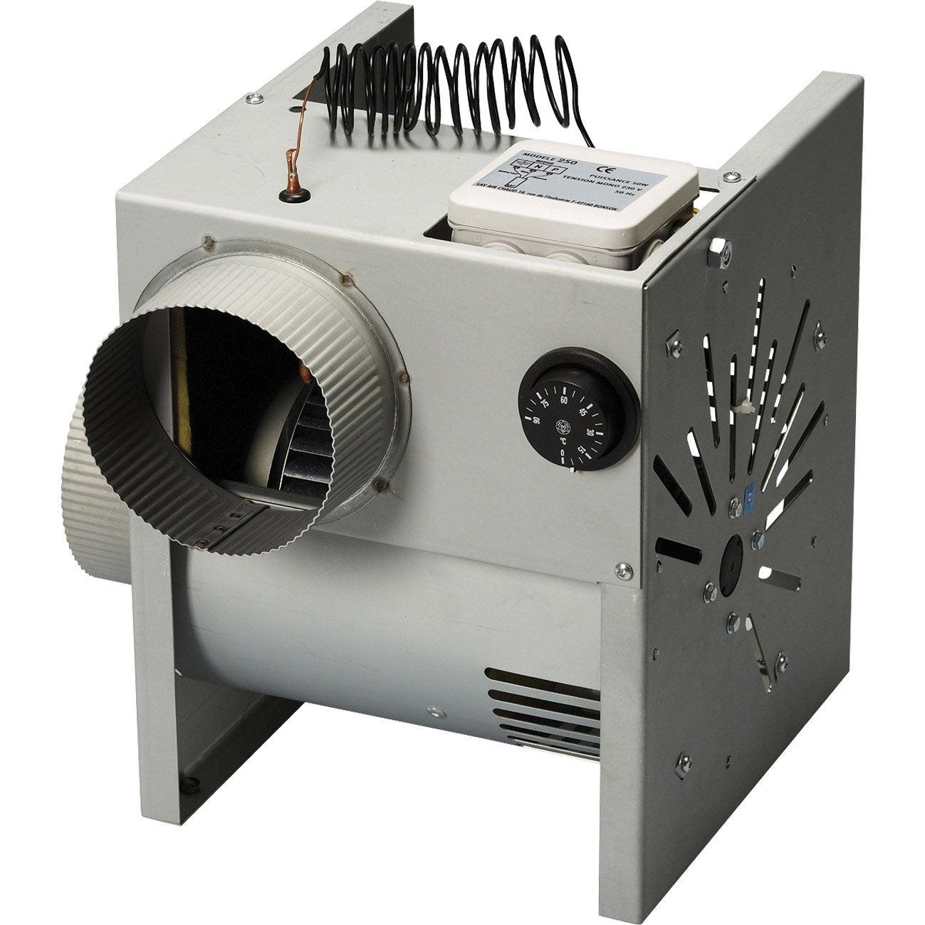 Moteur De Ventilation Extra 350 Poujoulat D Bit De 350 M3 H  ~ Poele A Bois Avec Recuperateur De Chaleur