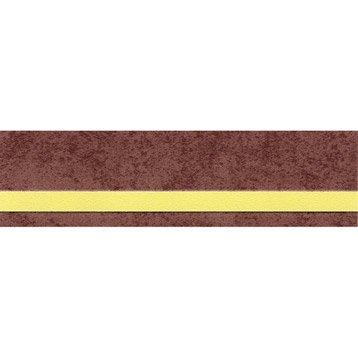 Bordure expansé adhésive Liseret L.10 m x l.4.8 cm