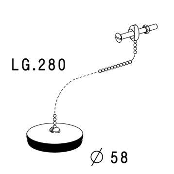 accessoires de vidage bouchon clapet vier baignoire au meilleur prix leroy merlin. Black Bedroom Furniture Sets. Home Design Ideas