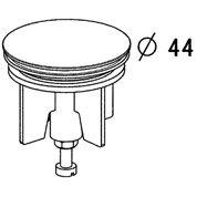 volant chrom pour vidage de baignoire leroy merlin. Black Bedroom Furniture Sets. Home Design Ideas
