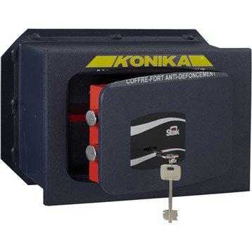 Coffre-fort à clé STARK konika 201tk H.21 x l.31 x P.15 cm