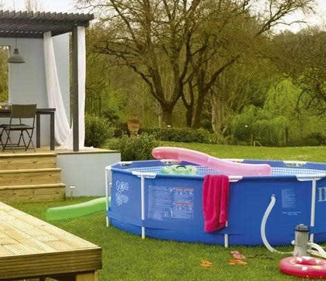 Bien choisir sa piscine hors sol leroy merlin - Choisir une piscine hors sol ...