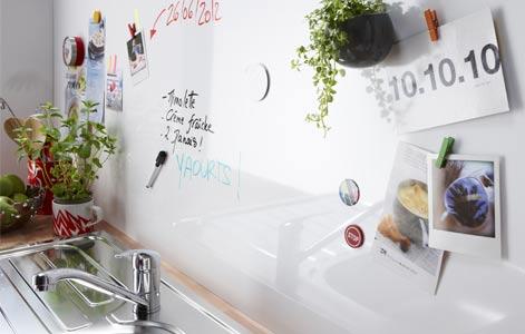 Bien choisir sa cr dence leroy merlin - Credence adhesive cuisine leroy merlin ...