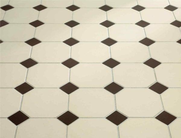 superb carrelage avec cabochon 4 pose octogonal. Black Bedroom Furniture Sets. Home Design Ideas
