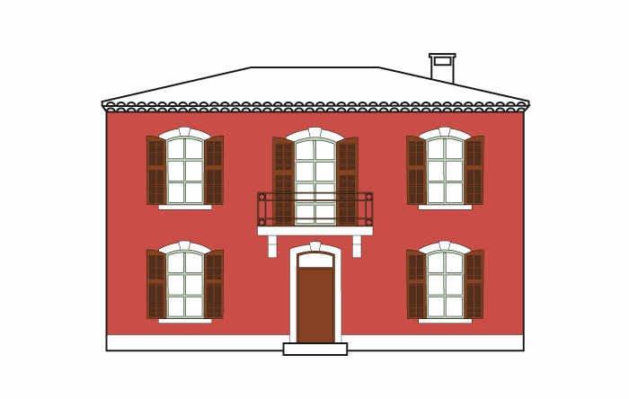 comment choisir sa peinture de fa ade leroy merlin. Black Bedroom Furniture Sets. Home Design Ideas