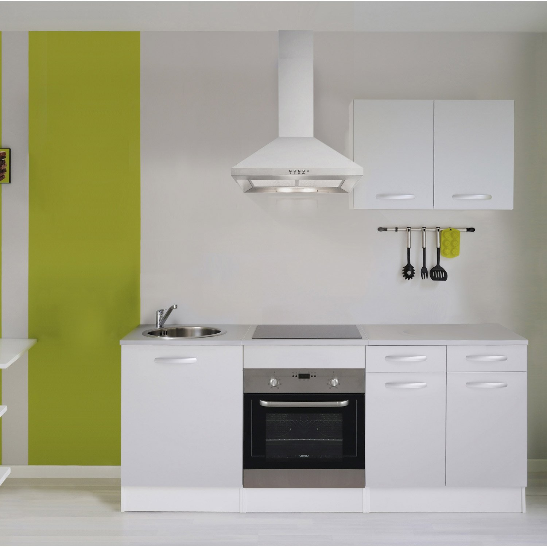 meuble de cuisine gris aluminium leroy merlin