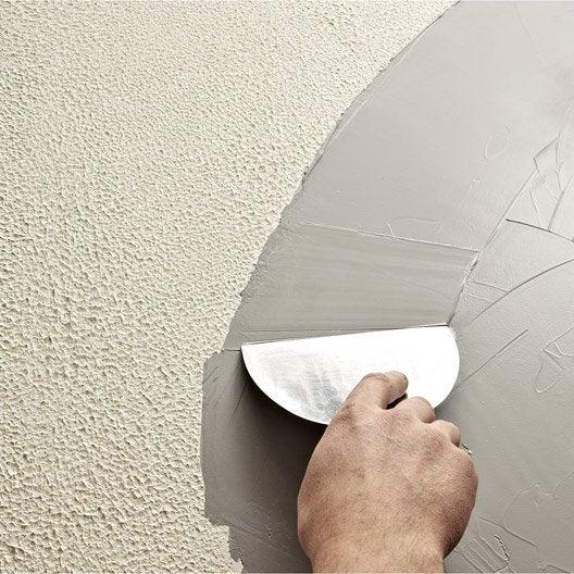Comment r aliser mon enduit d coratif reliss leroy merlin - Enduit mural decoratif ...