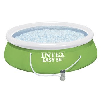 Piscine hors-sol autoportante gonflable Suppression INTEX, Diam.3.66 x H.0.84 m