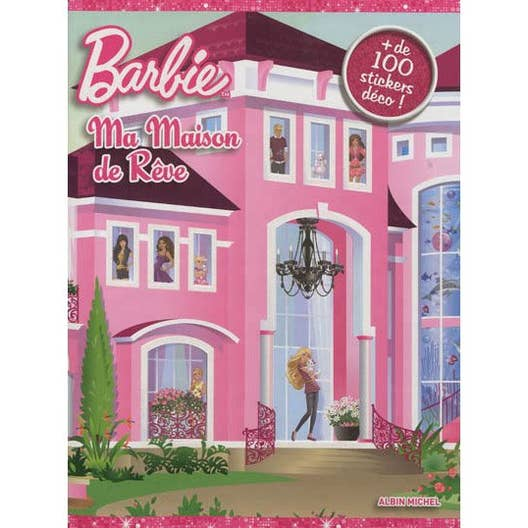 barbie ma maison de r ve albin michel leroy merlin. Black Bedroom Furniture Sets. Home Design Ideas