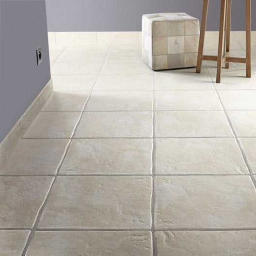 Carrelage cuisine sol beige for Leroy merlin configurateur