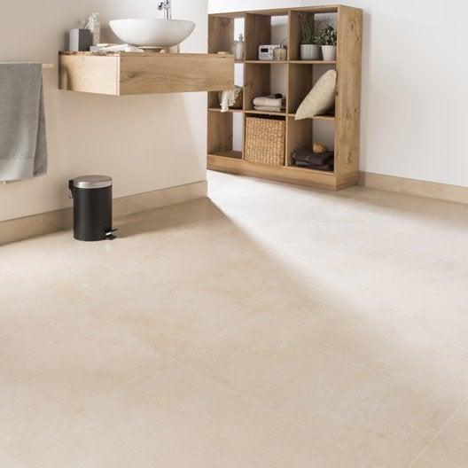 Carrelage sol et mur beige effet marbre murano x for Carrelage interieur 60 x 60