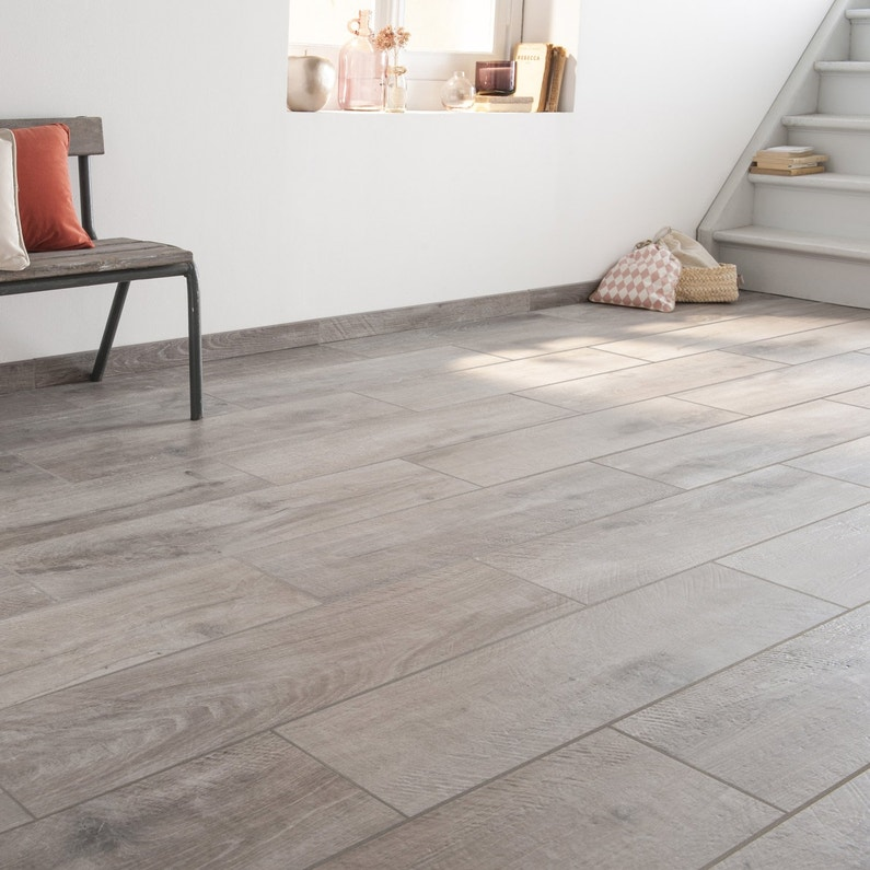 Carrelage Sol Et Mur Intenso Gris Heritage L 20 X L 80 Cm Excellence Ariana Gr Leroy Merlin