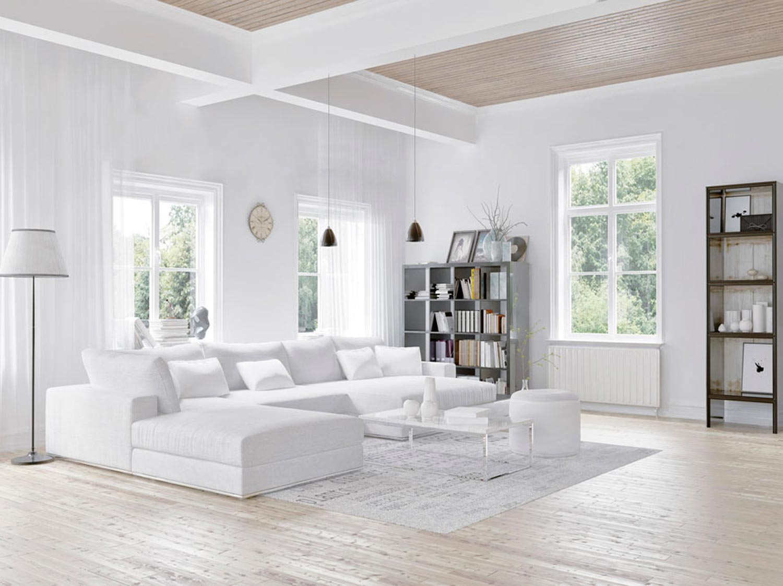 Charming Comment Choisir Sa Peinture Blanche Du0027intérieur ?