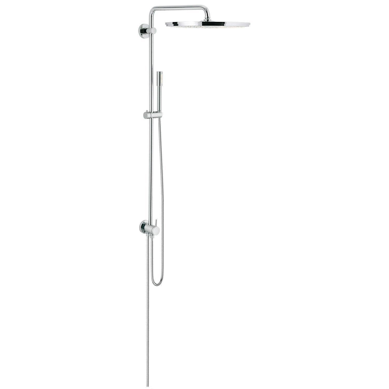 colonne de douche et bain sans robinetterie grohe rainshower 400 leroy merlin. Black Bedroom Furniture Sets. Home Design Ideas