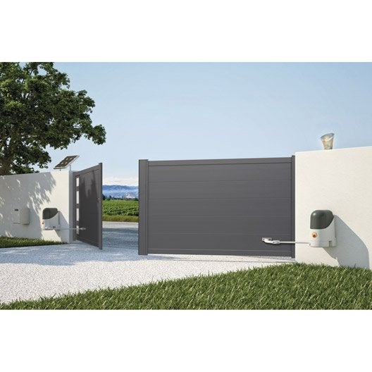 motorisation de portail bras mhouse by nice ws2000s leroy merlin. Black Bedroom Furniture Sets. Home Design Ideas