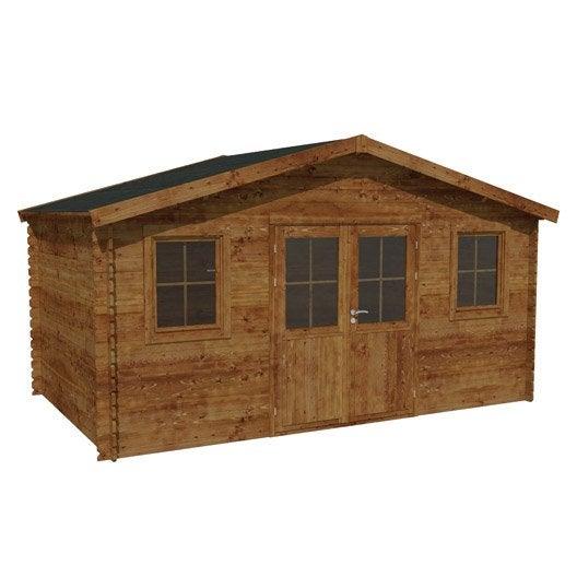abri de jardin bois m tal r sine chalet de jardin au meilleur prix leroy merlin. Black Bedroom Furniture Sets. Home Design Ideas