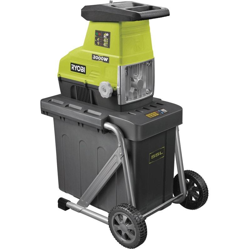 Broyeur De Végétaux électrique Ryobi Rsh3045u 3000 W