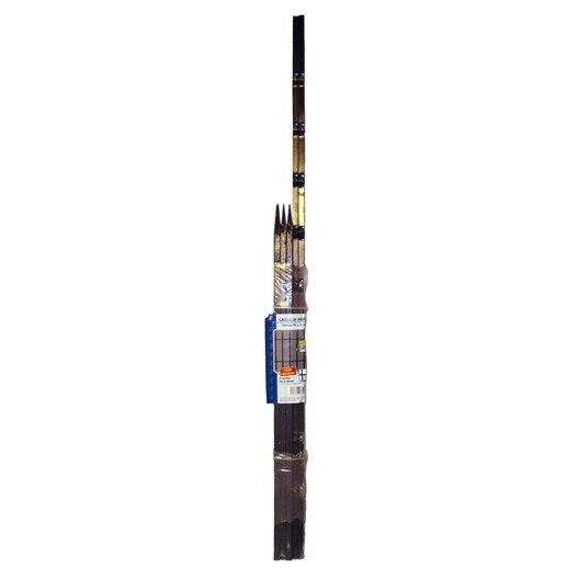Kit de grille visser fer pr peint 95 x 120 cm leroy for Garage a domicile 95