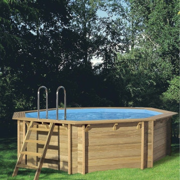 piscine hors sol piscine bois gonflable tubulaire acier au meilleur prix leroy merlin - Piscine Bois Solde