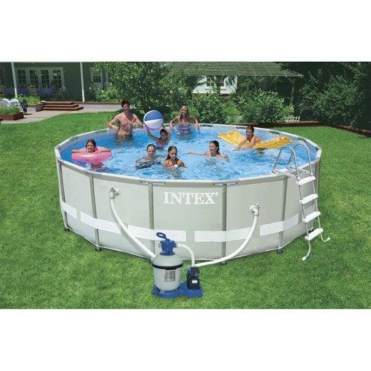 piscine autoportée 4.88