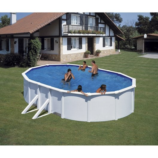 trigano piscine hors sol acier simple agrandir minrale et. Black Bedroom Furniture Sets. Home Design Ideas