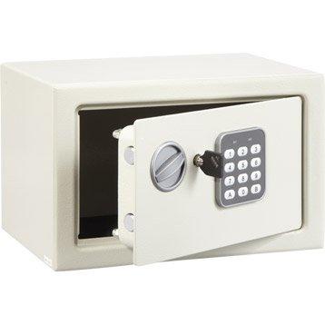 Coffre-fort à code, H18xl28xP20cm, 9L