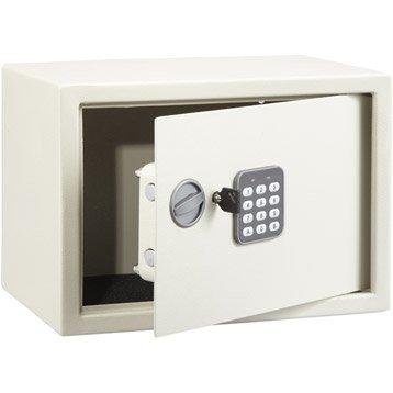 Coffre-fort à code, H25xl35xP25cm, 16L