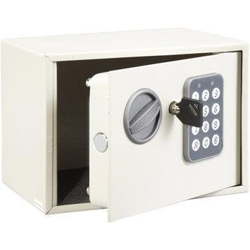 Coffre-fort à code, H14xl19xP14cm, 2L
