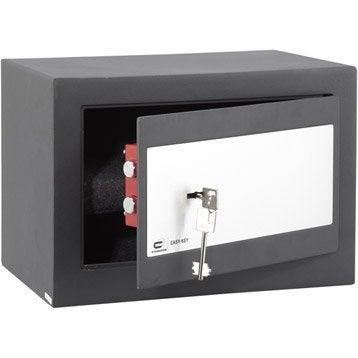 Coffre-fort à clé STANDERS easy key Sft-25kl H25 x l35 x P25 cm
