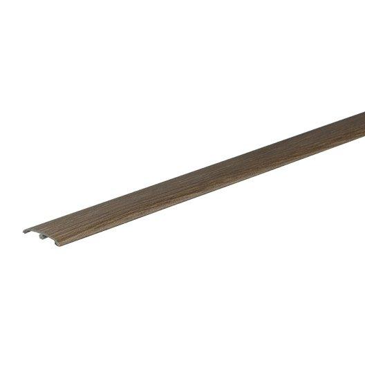 Barre de seuil pour parquet et stratifi parquet for Plaque stratifie a coller