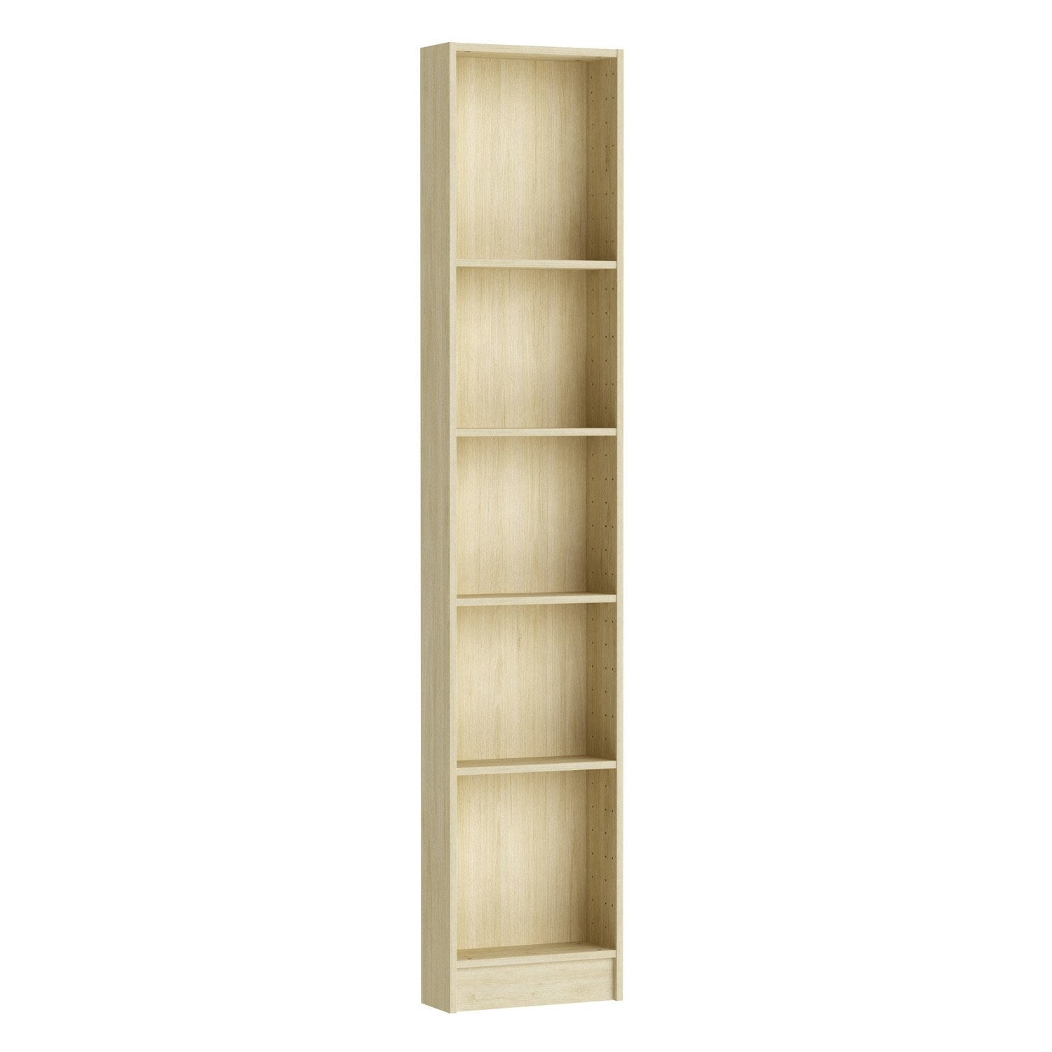 Caisson Spaceo Home 200 X 40 X 15 Cm Effet Chêne Naturel Leroy Merlin