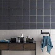 Faïence mur gris gris, Astuce l.20 x L.20 cm
