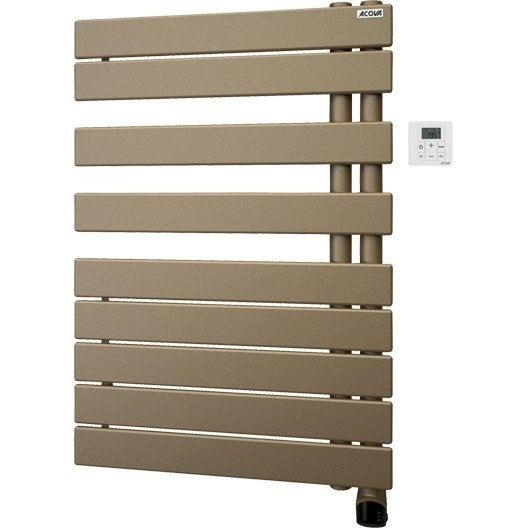 s che serviettes lectrique inertie fluide acova alpaga asym trique 750 w leroy merlin. Black Bedroom Furniture Sets. Home Design Ideas