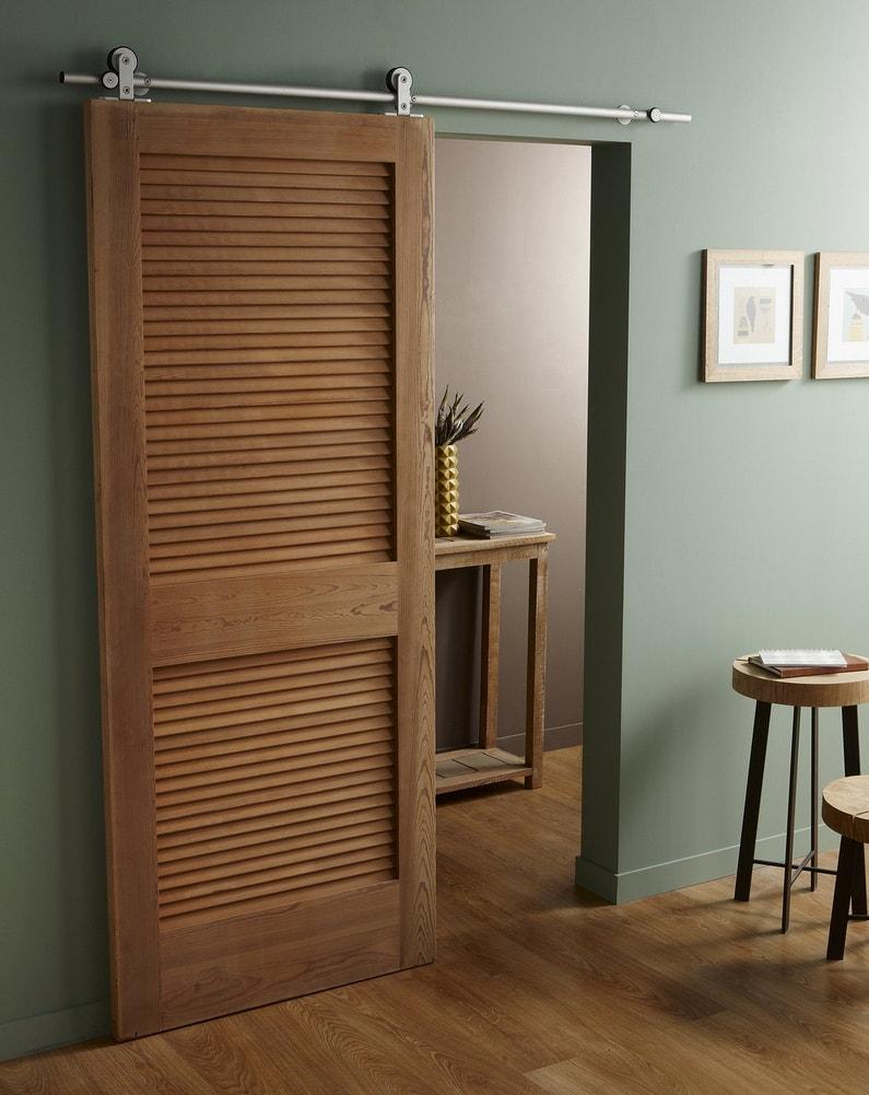 la porte coulissante pratique et d co leroy merlin. Black Bedroom Furniture Sets. Home Design Ideas