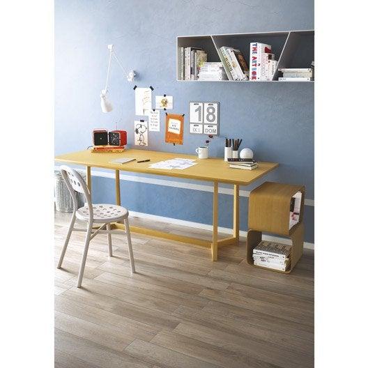 carrelage sol et mur naturel effet bois danube x cm leroy merlin. Black Bedroom Furniture Sets. Home Design Ideas