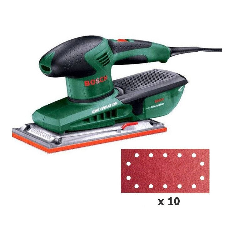 Ponceuse vibrante filaire bosch pss 280 250 w leroy merlin - Ponceuse vibrante bosch ...
