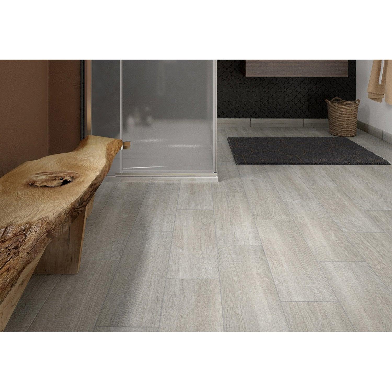 carrelage sol et mur gris perle effet bois helsinka l x l with carrelage nid d abeille noir. Black Bedroom Furniture Sets. Home Design Ideas