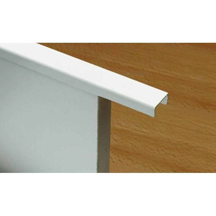 profil de finition forme en u x l 2 cm leroy merlin. Black Bedroom Furniture Sets. Home Design Ideas