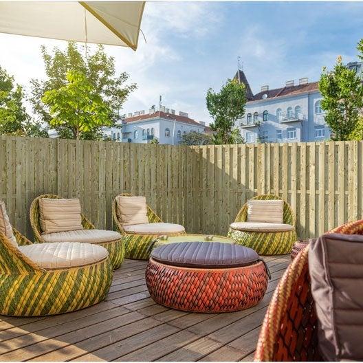 panneau occultant panneau bois claustra panneau verre jardin au meilleur prix leroy merlin. Black Bedroom Furniture Sets. Home Design Ideas